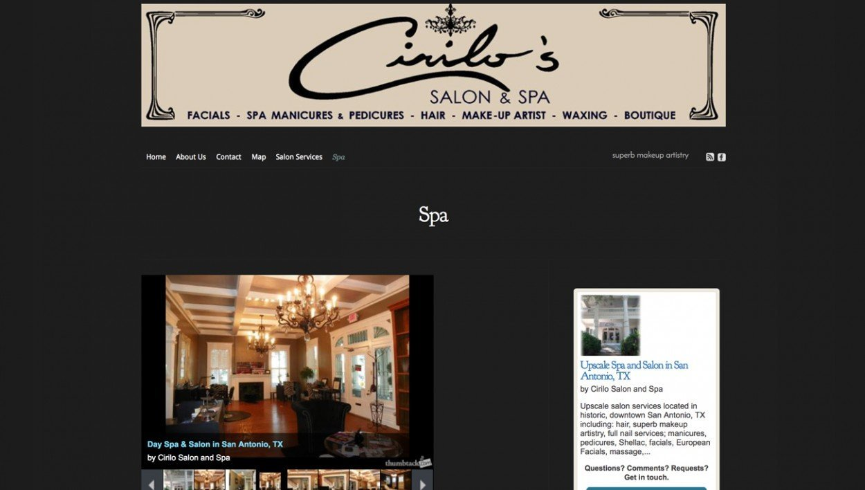 Cirilo's Salon and Spa