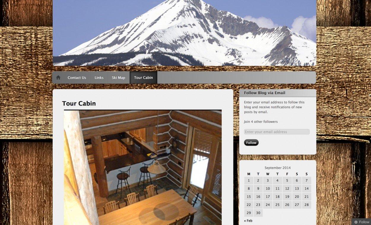 Ski Resort Website Design