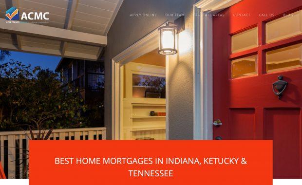 Mortgage Banking Website Design