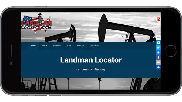 Mobile Website for Oil Gas Industry