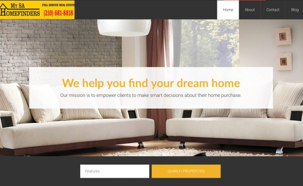 My SA Home Finders Real Estate Agency Website