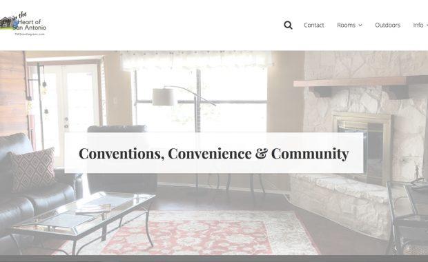 Website design for Airbnb or VRBO homes