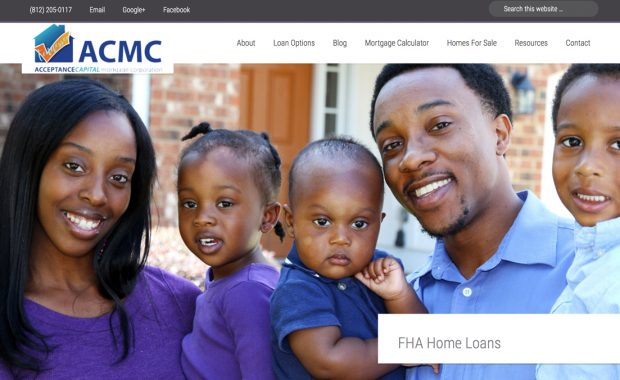 Web Presence Designed for Mortgage Business
