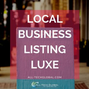 Luxe local business listing