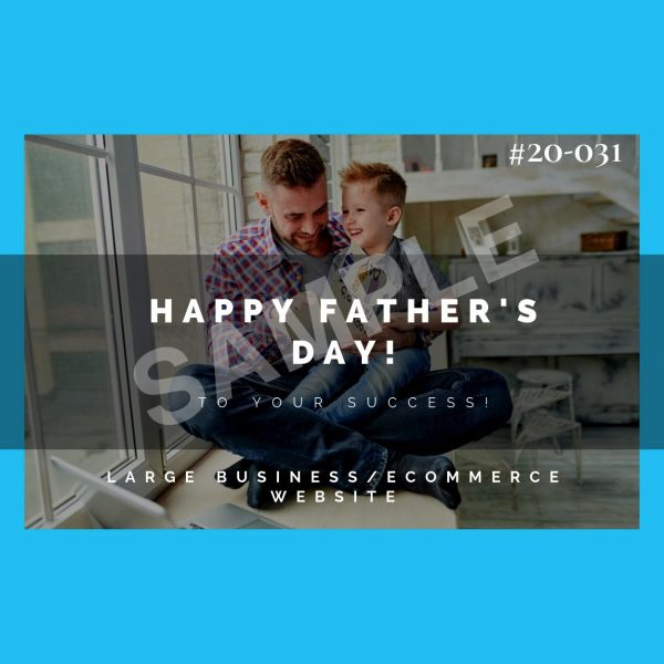 Father's Day Gift Certificate for eCommerce Website Build